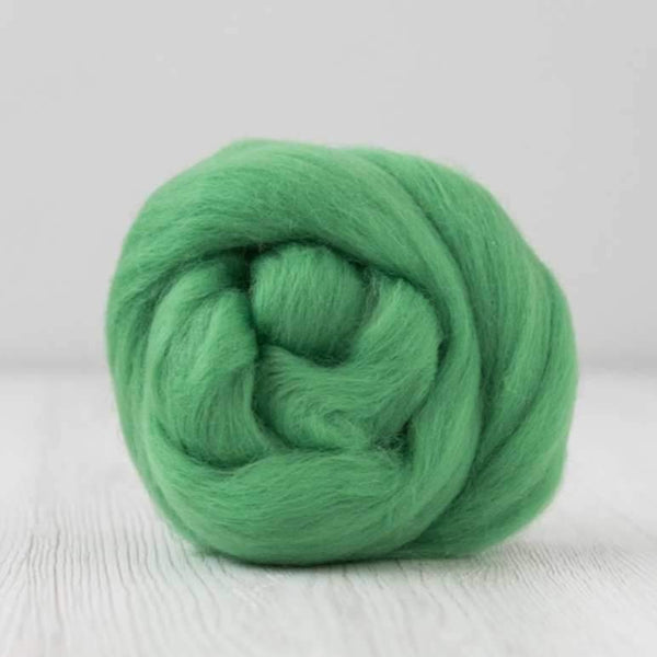 DHG Merino Wool Combed Top - Roving - Meadow| DHG Wool Tops | Sally Ridgway | Shop Wool, Felt and Fibre Online