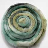 Merino Wool Roving Australian Combed Top Teal Blue Green 12585| Merino wool tops | Sally Ridgway | Shop Wool, Felt and Fibre Online