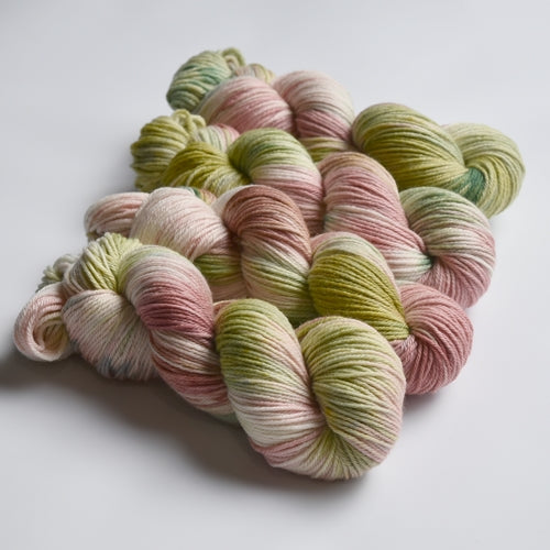 8 Ply Pure Merino Wool Knitting Yarn Hand Dyed Spring Garden 12797| 8 ply Pure Merino Yarn | Sally Ridgway | Shop Wool, Felt and Fibre Online
