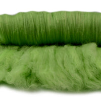 Tasmanian Merino Wool Carded Batts Hand Dyed Spring Green 13158| Merino Wool Batts | Sally Ridgway | Shop Wool, Felt and Fibre Online