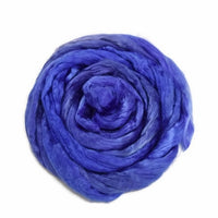 Mulberry Silk Roving Purple Mix 20 Grams 12331| Silk Roving/Sliver | Sally Ridgway | Shop Wool, Felt and Fibre Online