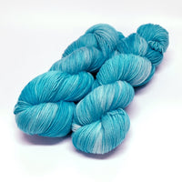 Supreme Sock Yarn 4 Ply Australian Merino Wool Hand Dyed Bluebird 12988| Sock Yarn | Sally Ridgway | Shop Wool, Felt and Fibre Online