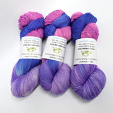 4 ply Supreme Sock Yarn Hand Dyed Lavender Blush 12987| Sock Yarn | Sally Ridgway | Shop Wool, Felt and Fibre Online