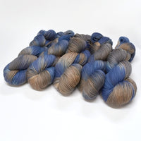 4 ply Supreme Sock Yarn Hand Dyed Slate 12986| Sock Yarn | Sally Ridgway | Shop Wool, Felt and Fibre Online