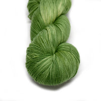 Sock Yarn 4 Ply Australian Merino Wool Knitting Yarn Hand Dyed Spring Green 12710| Sock Yarn | Sally Ridgway | Shop Wool, Felt and Fibre Online