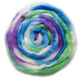 Superwash Tasmanian Merino Wool Top (Roving) Sherbet Fizz 12937| Superwash Merino Wool Tops | Sally Ridgway | Shop Wool, Felt and Fibre Online