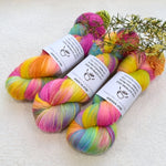 Supreme Sock Yarn 4 Ply Australian Merino Wool Hand Dyed Lollipop 12947| Sock Yarn | Sally Ridgway | Shop Wool, Felt and Fibre Online