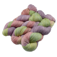 4 ply Supreme Sock Yarn Hand Dyed in Cottage Garden 13118| Sock Yarn | Sally Ridgway | Shop Wool, Felt and Fibre Online