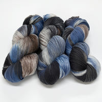 Supreme Sock Yarn 4 Ply Australian Merino Wool in Storm Clouds 12944| Sock Yarn | Sally Ridgway | Shop Wool, Felt and Fibre Online
