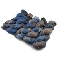 4 ply Supreme Sock Yarn Hand Dyed Grey Slate 13112| Sock Yarn | Sally Ridgway | Shop Wool, Felt and Fibre Online