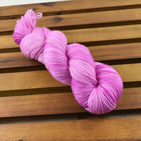 4 ply Supreme Sock Yarn Hand Dyed Raspberry Ice 13219| Sock Yarn | Sally Ridgway | Shop Wool, Felt and Fibre Online