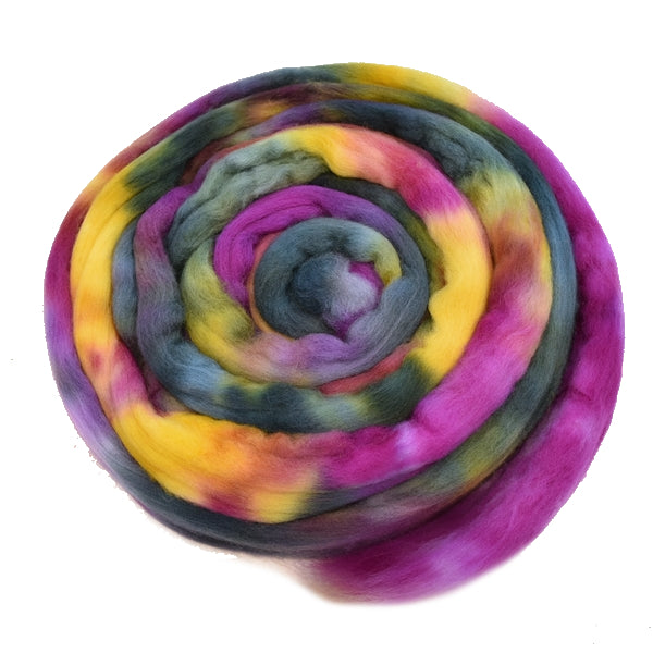 Tasmanian Merino Wool Combed Top (Roving) Rain Forest 13309| Merino wool tops | Sally Ridgway | Shop Wool, Felt and Fibre Online