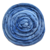 Tasmanian Merino Wool Combed Top in Light Indigo 12979| Merino Wool Tops | Sally Ridgway | Shop Wool, Felt and Fibre Online