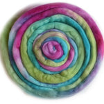 Tasmanian Merino Wool Combed Top Hand Dyed (Roving) Rainbow 12824| Merino Wool Tops | Sally Ridgway | Shop Wool, Felt and Fibre Online