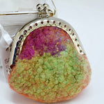 Wool Felt Coin Purse Handmade Jewellery purse 12542| Coin Purse | Sally Ridgway | Shop Wool, Felt and Fibre Online