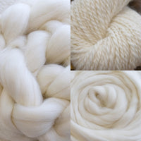 Australian Corriedale and Suri Alpaca Blend Combed Wool Top 100 grams| Undyed Wool Roving Top | Sally Ridgway | Shop Wool, Felt and Fibre Online