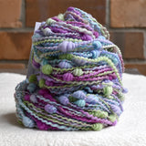 Beehive Coiled Hand Spun Art Yarn in Fleur 13396| Hand Spun Yarn | Sally Ridgway | Shop Wool, Felt and Fibre Online