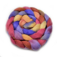Corriedale Wool Top Roving Hand Dyed in Mexican 100 Grams 12765| Corriedale Wool | Sally Ridgway | Shop Wool, Felt and Fibre Online