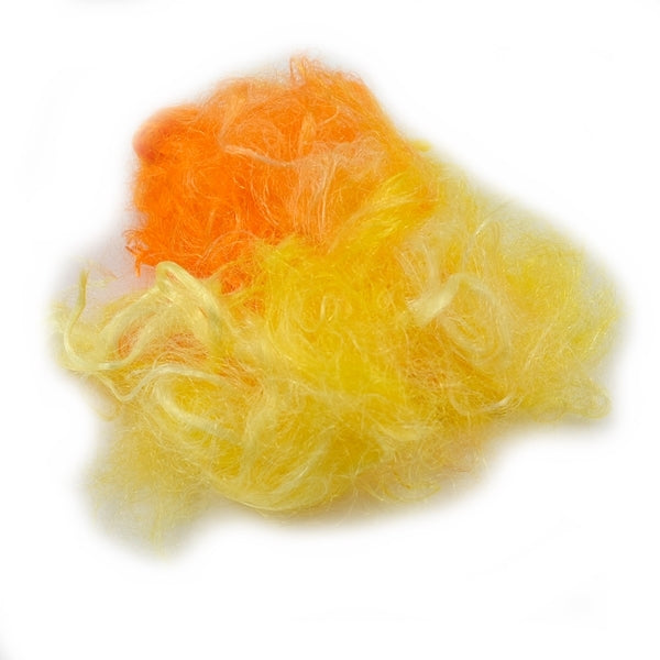 Firestar Fibre Hand Dyed Trilobal Nylon Citrus 12916| Firestar Fibre | Sally Ridgway | Shop Wool, Felt and Fibre Online