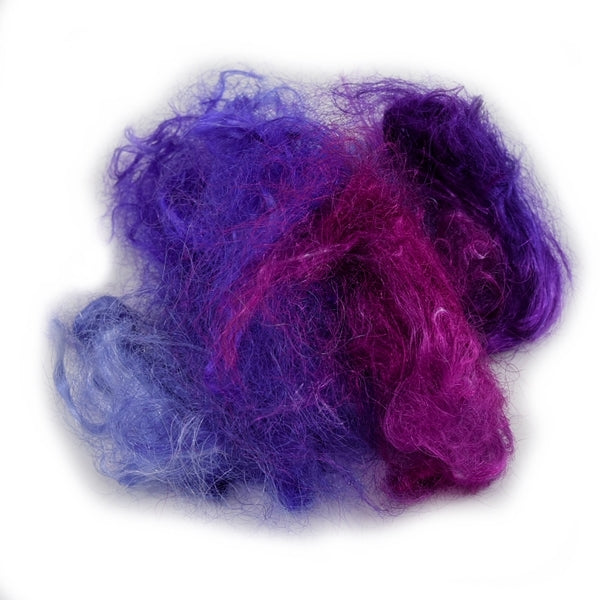 Firestar Fibre Hand Dyed Trilobal Nylon Purple Passion 12915| Firestar Fibre | Sally Ridgway | Shop Wool, Felt and Fibre Online