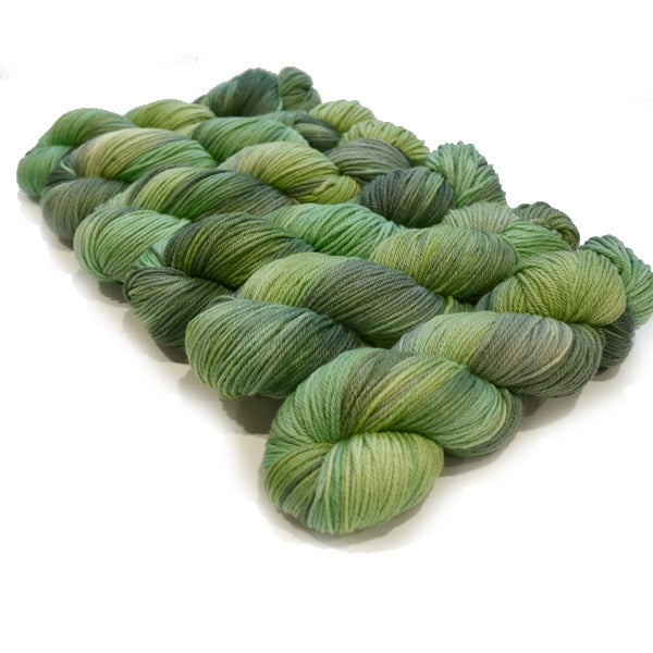 8 Ply Pure Merino Wool DK Yarn in Evergreen 13037| 8 ply Pure Merino Yarn | Sally Ridgway | Shop Wool, Felt and Fibre Online