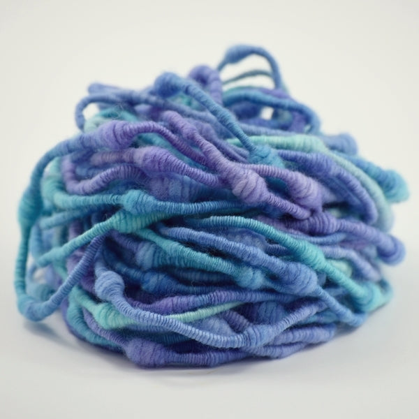 Beehive Super Coiled Art Yarn Hand Spun in Purple Opals 13135| Hand Spun Yarn | Sally Ridgway | Shop Wool, Felt and Fibre Online