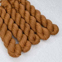 Mini Skeins 4 Ply Supreme Sock Yarn in Clay| Mini Skeins | Sally Ridgway | Shop Wool, Felt and Fibre Online