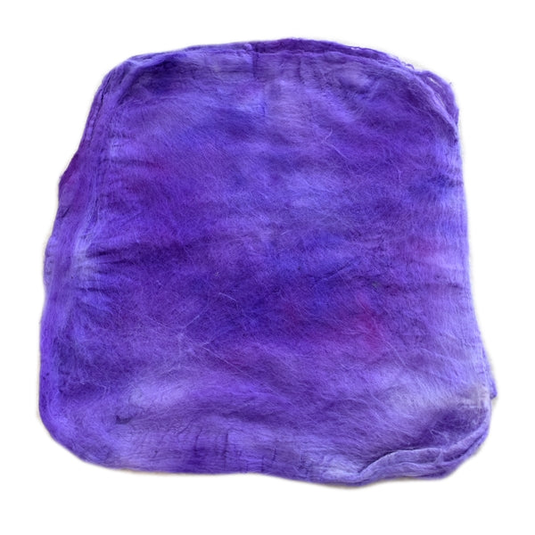 Mulberry Silk Hankies Hand Dyed Fusion 13294| Silk Hankies | Sally Ridgway | Shop Wool, Felt and Fibre Online