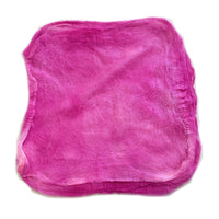 Mulberry Silk Hankies Hand Dyed Pink Passion 13293| Silk Hankies | Sally Ridgway | Shop Wool, Felt and Fibre Online
