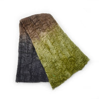 Mulberry Silk Cocoon Sheet Fabric Hand Dyed Earthy Colours 12677| Silk Cocoon Sheets | Sally Ridgway | Shop Wool, Felt and Fibre Online