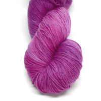 Yarn 4 Ply Australian Merino Wool Knitting Yarn Hand Dyed Hot Pink Raspberry 12701| Sock Yarn | Sally Ridgway | Shop Wool, Felt and Fibre Online