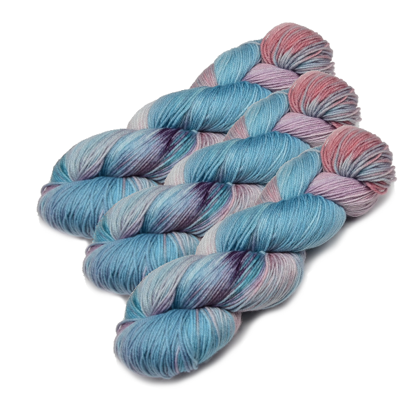 Sock Yarn 4 Ply Australian Merino Wool Knitting Yarn Hand Dyed Pacific Blue 12779| Sock Yarn | Sally Ridgway | Shop Wool, Felt and Fibre Online