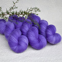 4 ply Supreme Sock Yarn Hand Dyed Violet 13172| Sock Yarn | Sally Ridgway | Shop Wool, Felt and Fibre Online