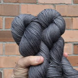 4 ply Supreme Sock Yarn Hand Dyed Shadow Grey 13127| Sock Yarn | Sally Ridgway | Shop Wool, Felt and Fibre Online