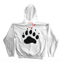 Load image into Gallery viewer, Polar Bear Paw Hoodie