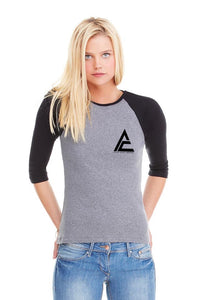 ACA Women's Baseball Tee