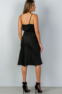 Ladies fashion side slit midi skirt - LANE FORTY SIX
