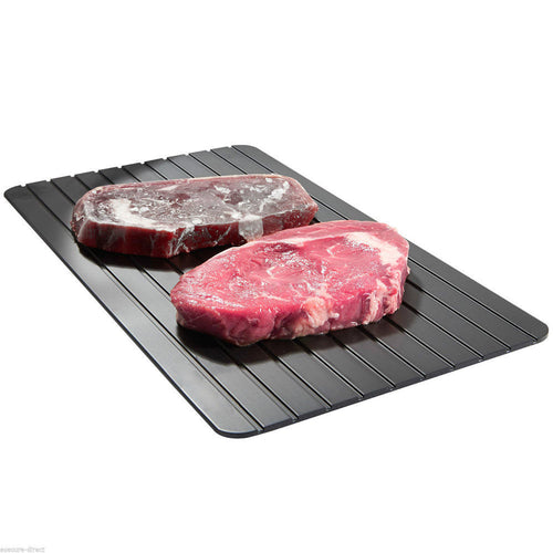 Fast Defrosting Tray  Kitchen The Safest Way to Defrost Meat Or Frozen Food - LANE FORTY SIX