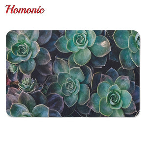 Home and Garden Non-Slip Succulent Rubber Mat for your bathroom or kitchen