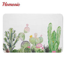Load image into Gallery viewer, Home and Garden Non-Slip Succulent Rubber Mat for your bathroom or kitchen