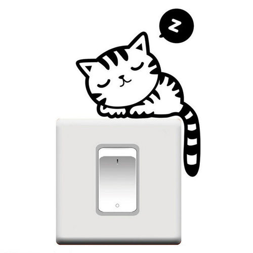 Decorating Switch Vinyl Cat Decal - LANE FORTY SIX