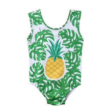 Load image into Gallery viewer, One Piece Pineapple Swimsuit - LANE FORTY SIX