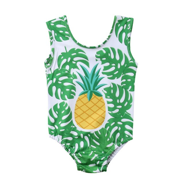 One Piece Pineapple Swimsuit - LANE FORTY SIX