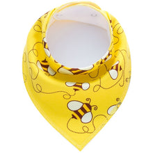 Load image into Gallery viewer, Washable Cotton Baby Bibs Cotton  Adjustable