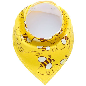 Washable Cotton Baby Bibs Cotton  Adjustable