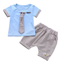 Load image into Gallery viewer, Summer Boys Handsome Suits  Boy Clothes Set 1-4 Years - LANE FORTY SIX