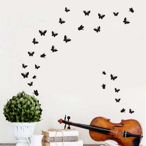 Butterfly Home Decor Wall Sticker Decal Bedroom Vinyl Art Mural - LANE FORTY SIX