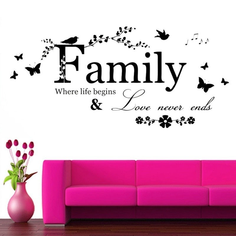 Home Room Decor Removable Wall Stickers Decal Art Vinyl Mural Sticker - LANE FORTY SIX