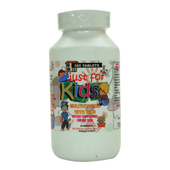JUST FOR KIDS Multivitaminas Para Ninos