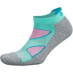 Balega Kindness Wins Enduro No Show Running Socks Midgrey / Light Aqua